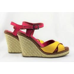 Sandales compensées The...