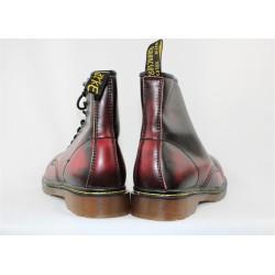 Chaussure bordeaux en cuir