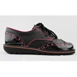 Chaussure en cuir Kickers