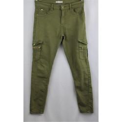 Pantalon vert kaki